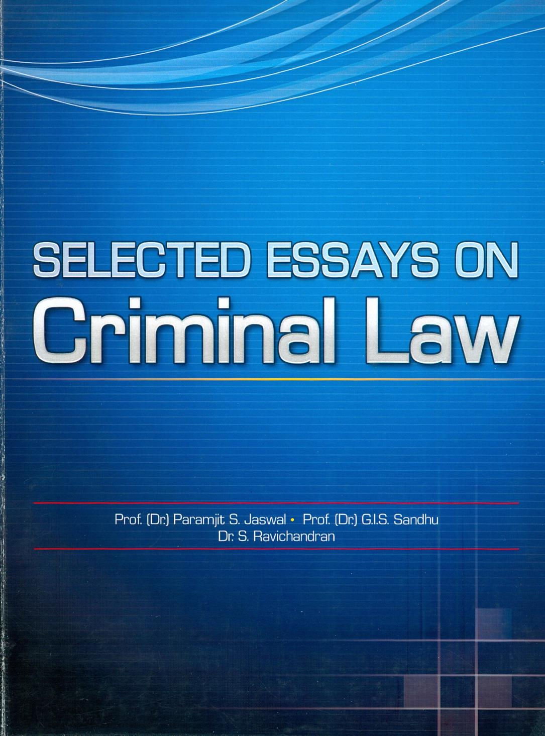 criminal law esssay English law has been subject to being described as unprincipled and inconsistent in its approach to the question of whether the failure to act is a.
